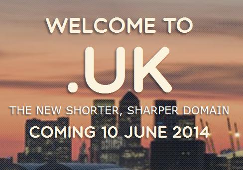 Nieuwe domeinen .UK