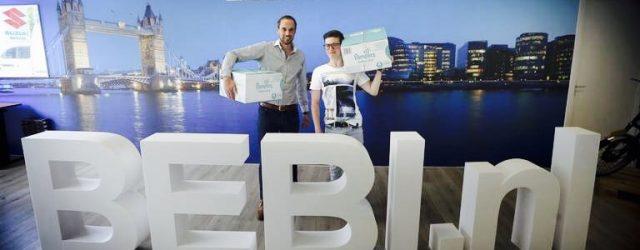 Leeuwarder Courant: Startup BEBI.nl springt in het gat in de luiermarkt